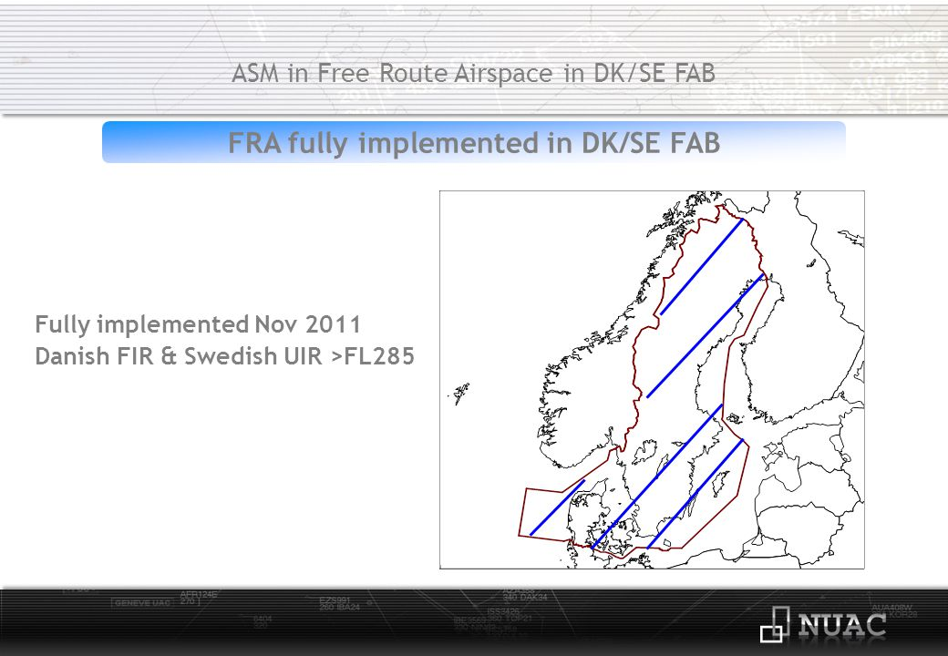 FRA fully implemented in DK/SE FAB