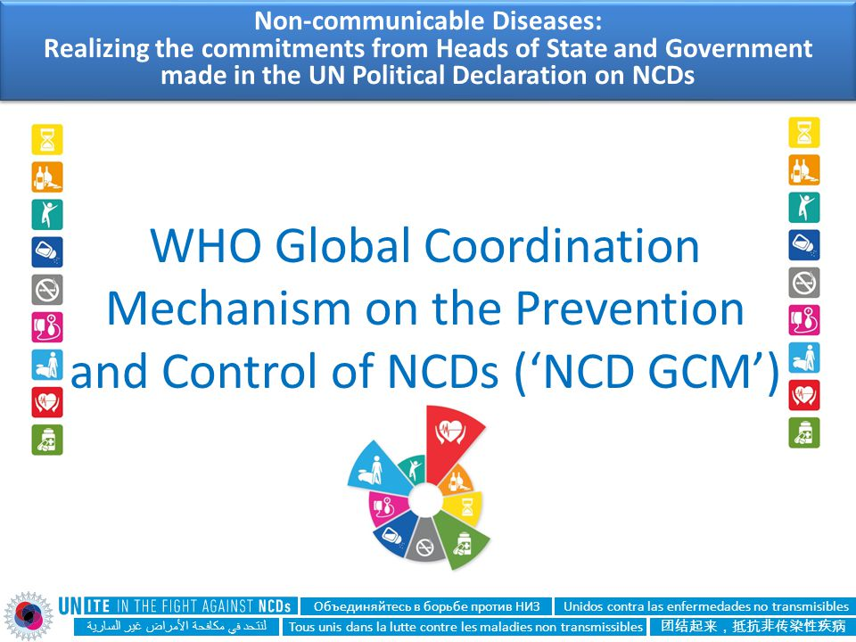 Non-communicable Diseases: