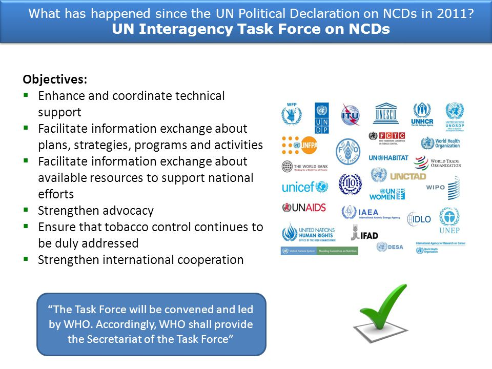 UN Interagency Task Force on NCDs