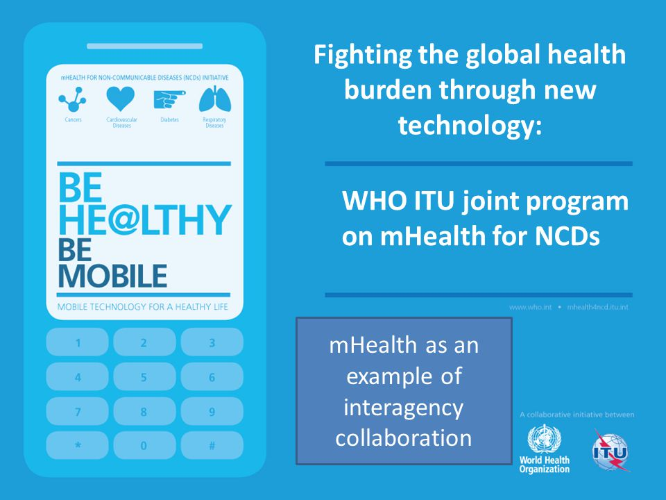 Fighting the global health burden through new technology: