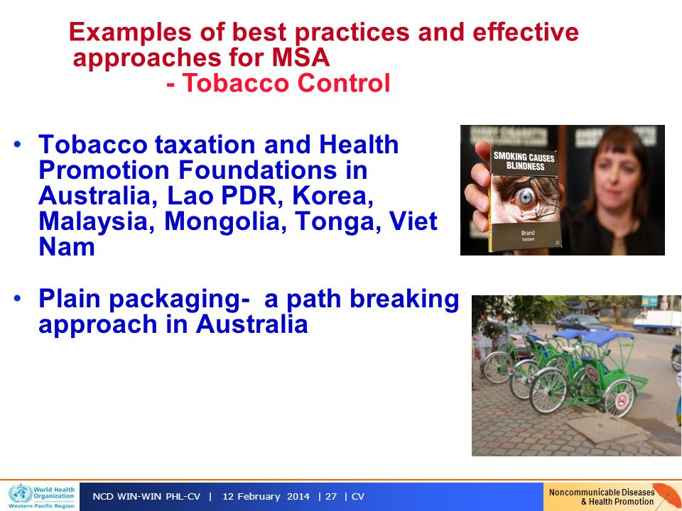 Plain packaging- a path breaking approach in Australia