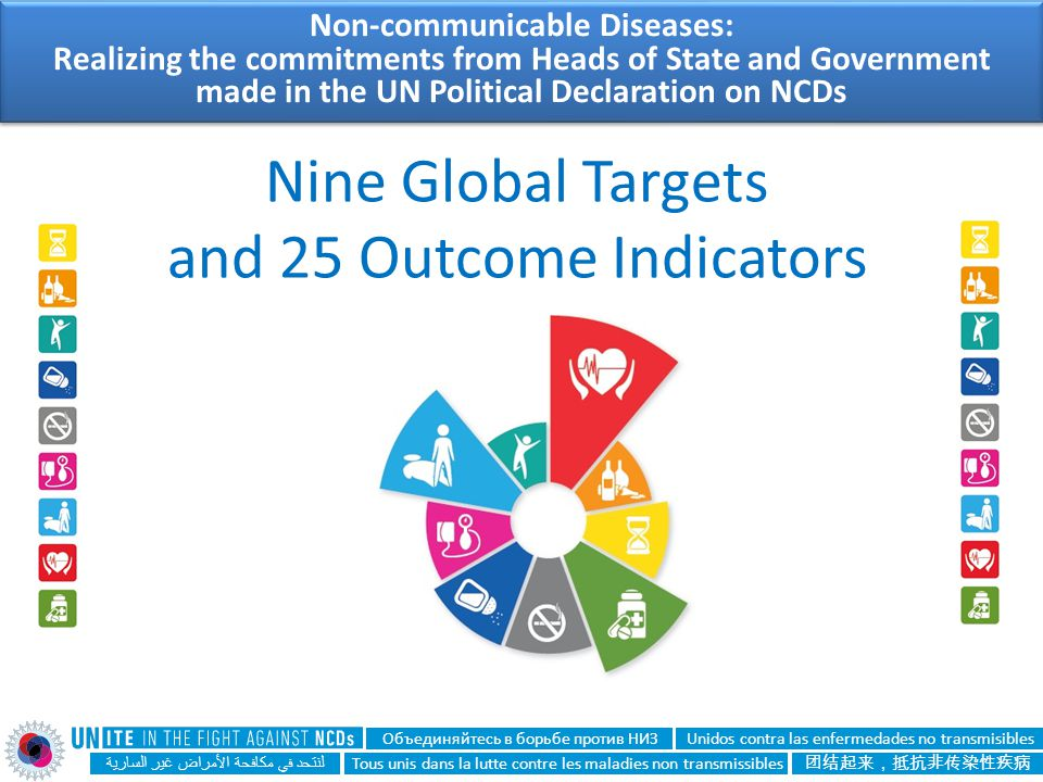 Nine Global Targets and 25 Outcome Indicators