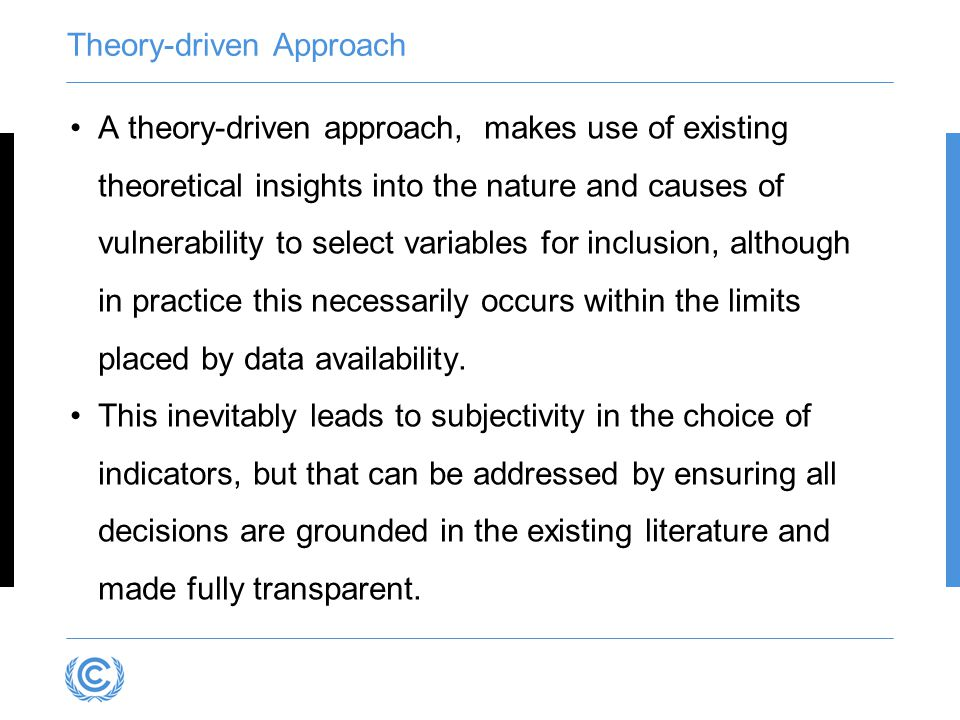 Theory-driven Approach