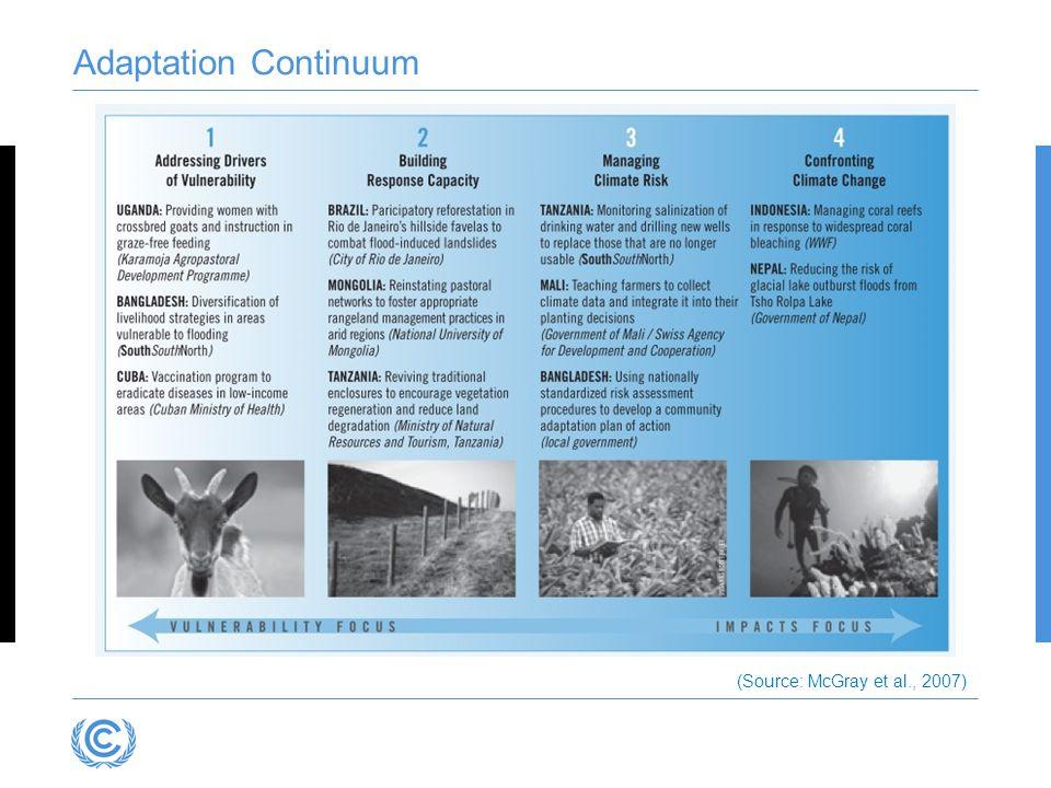 Adaptation Continuum (Source: McGray et al., 2007)