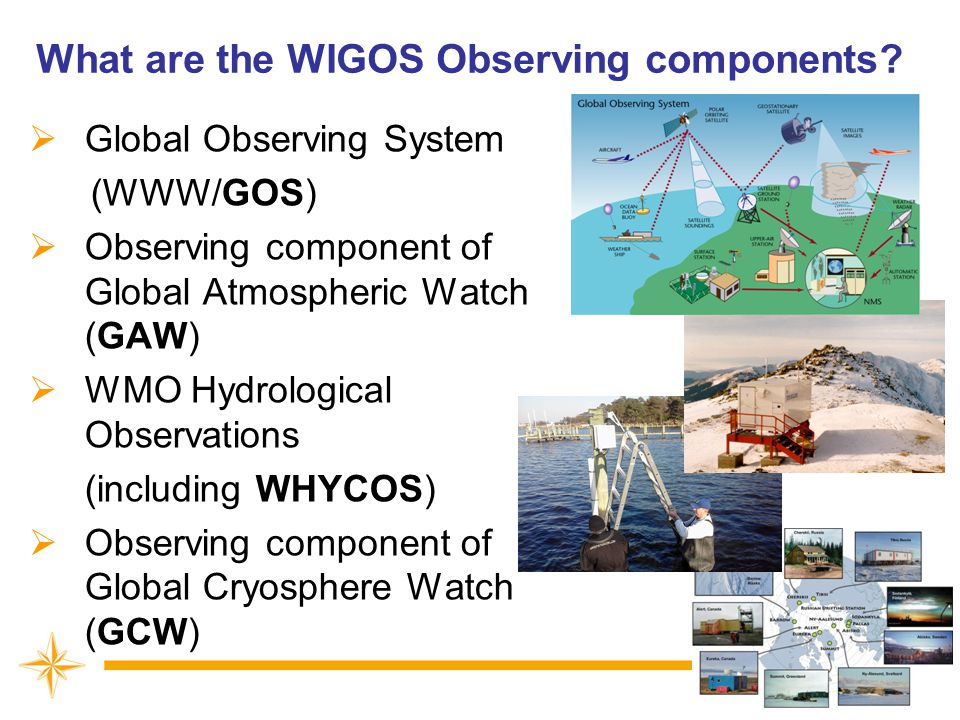 What are the WIGOS Observing components