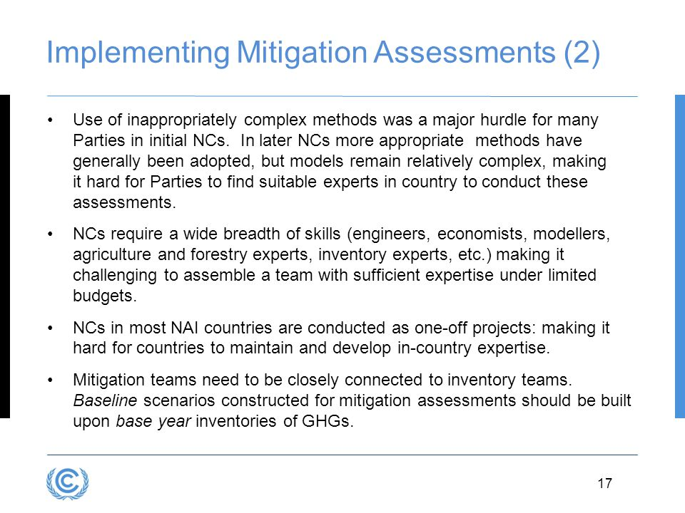 Implementing Mitigation Assessments (2)