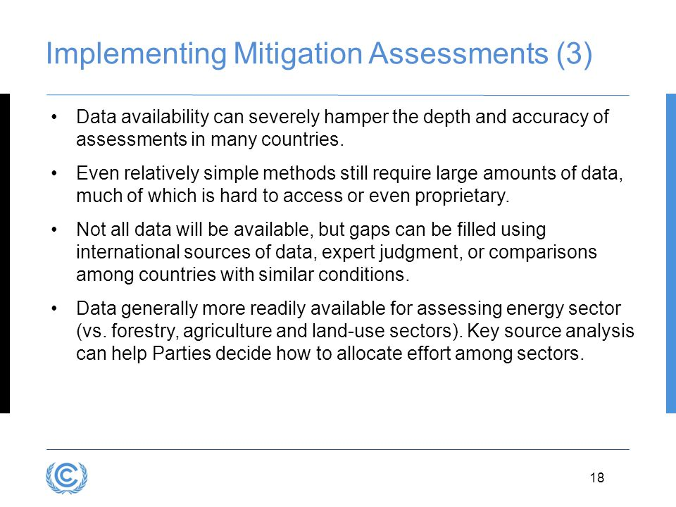 Implementing Mitigation Assessments (3)