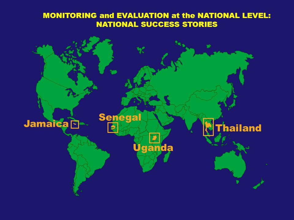 Senegal Jamaica Thailand Uganda