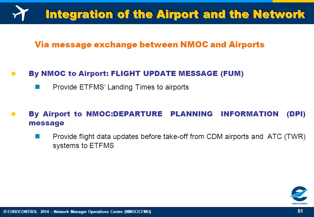 Integration of the Airport and the Network