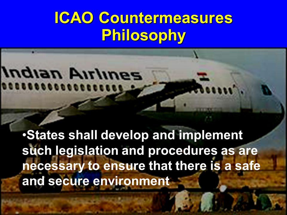 ICAO Countermeasures Philosophy