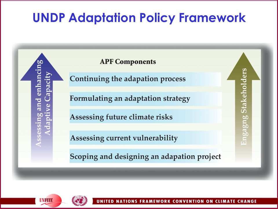 UNDP Adaptation Policy Framework