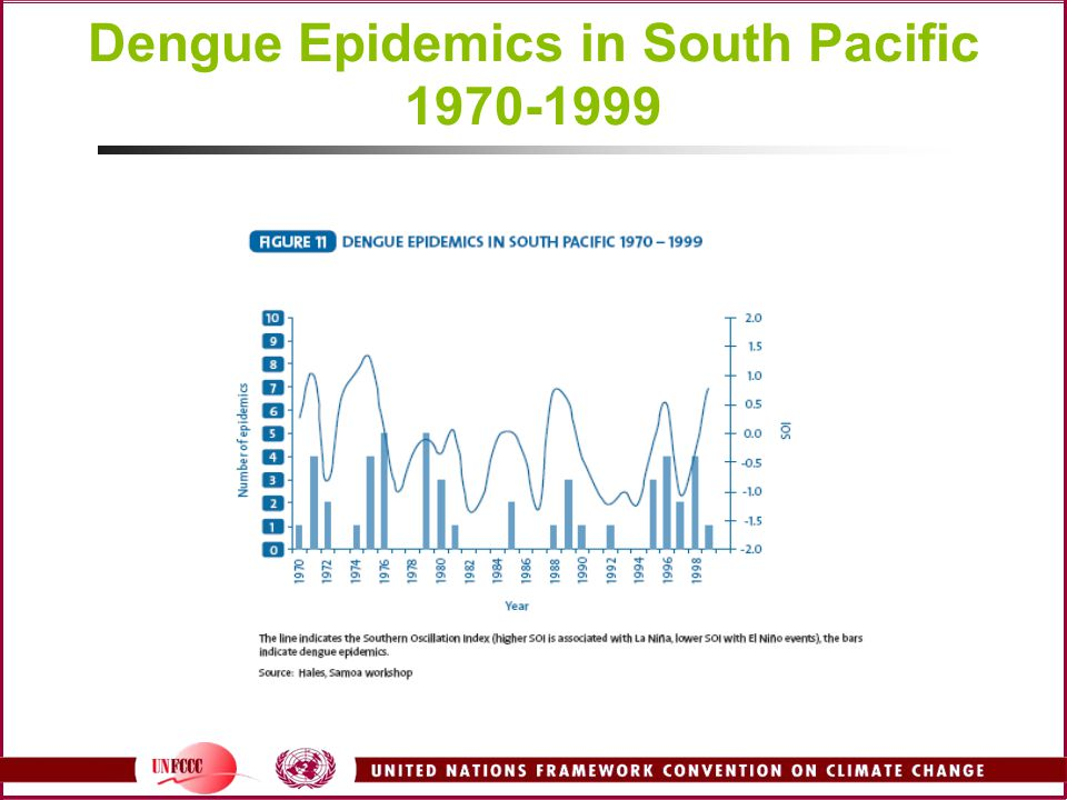 Dengue Epidemics in South Pacific
