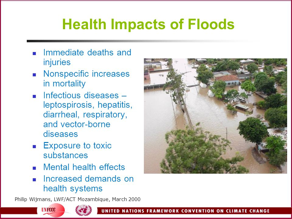 Health Impacts of Floods