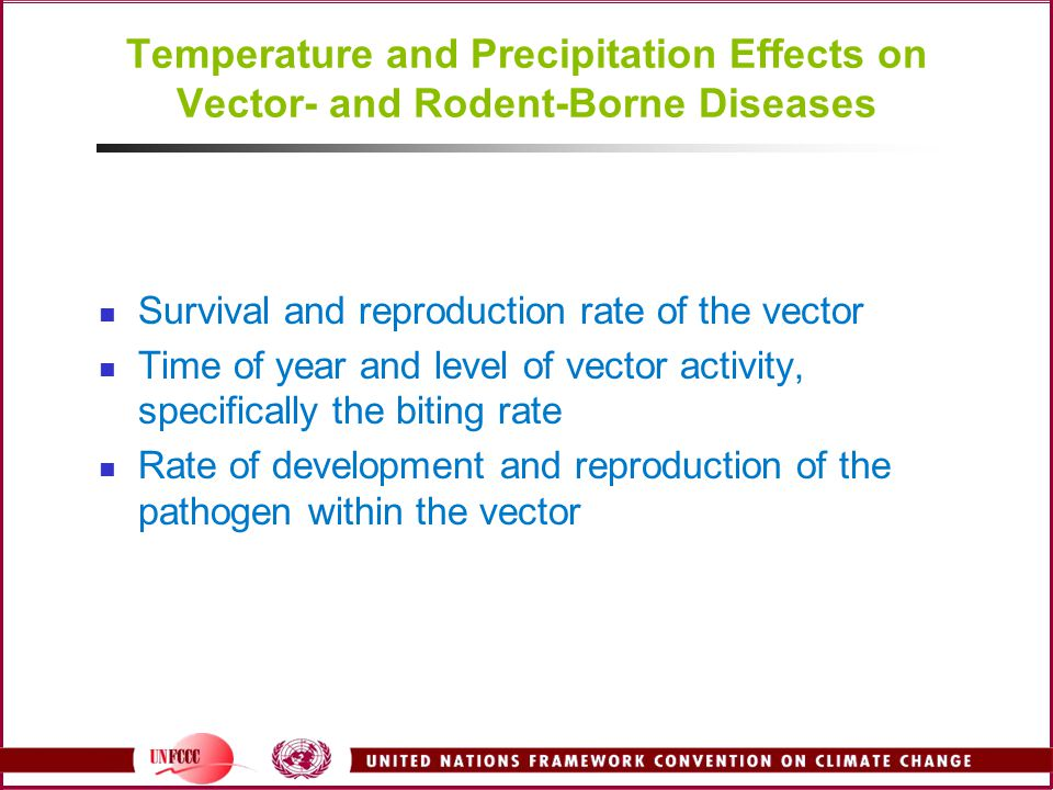 Temperature and Precipitation Effects on Vector- and Rodent-Borne Diseases