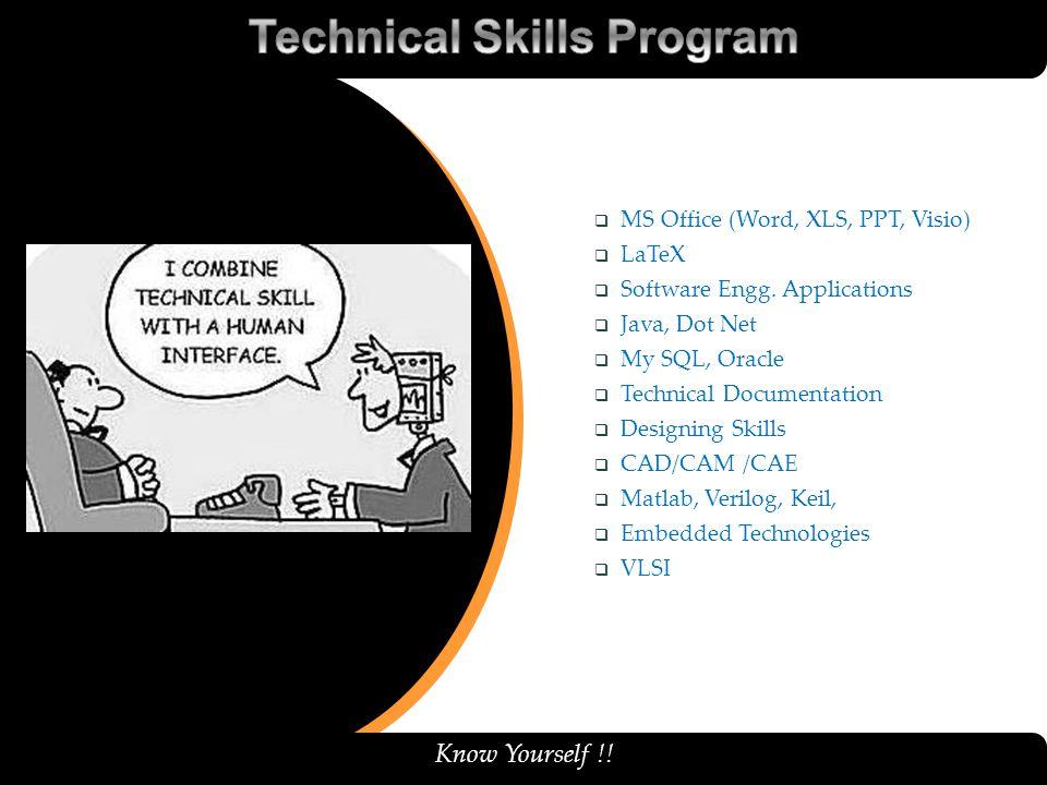 Technical Skills Program
