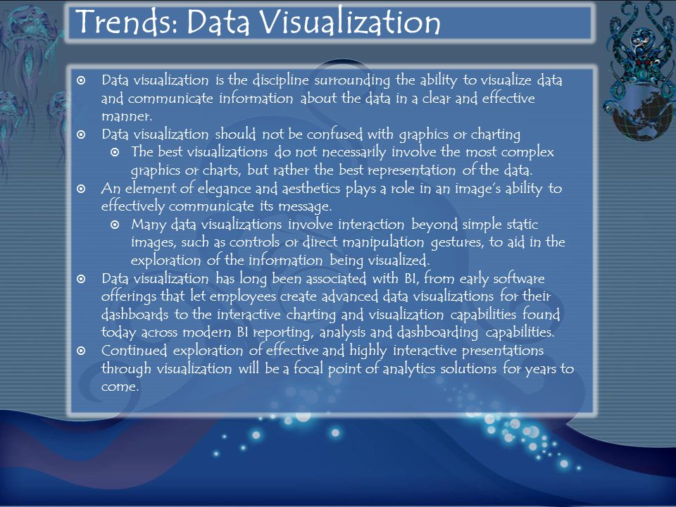 Trends: Data Visualization