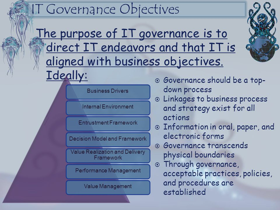 IT Governance Objectives