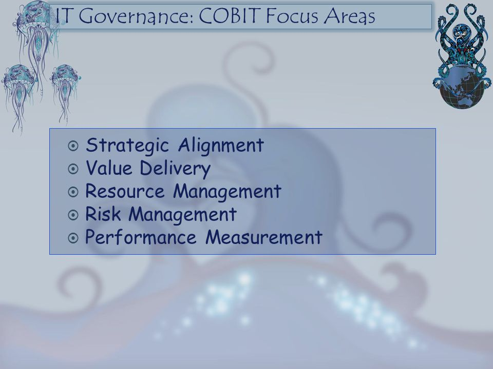 IT Governance: COBIT Focus Areas