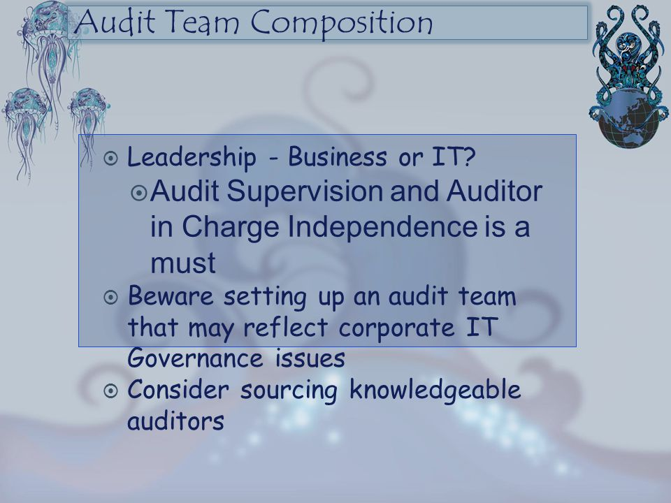 Audit Team Composition