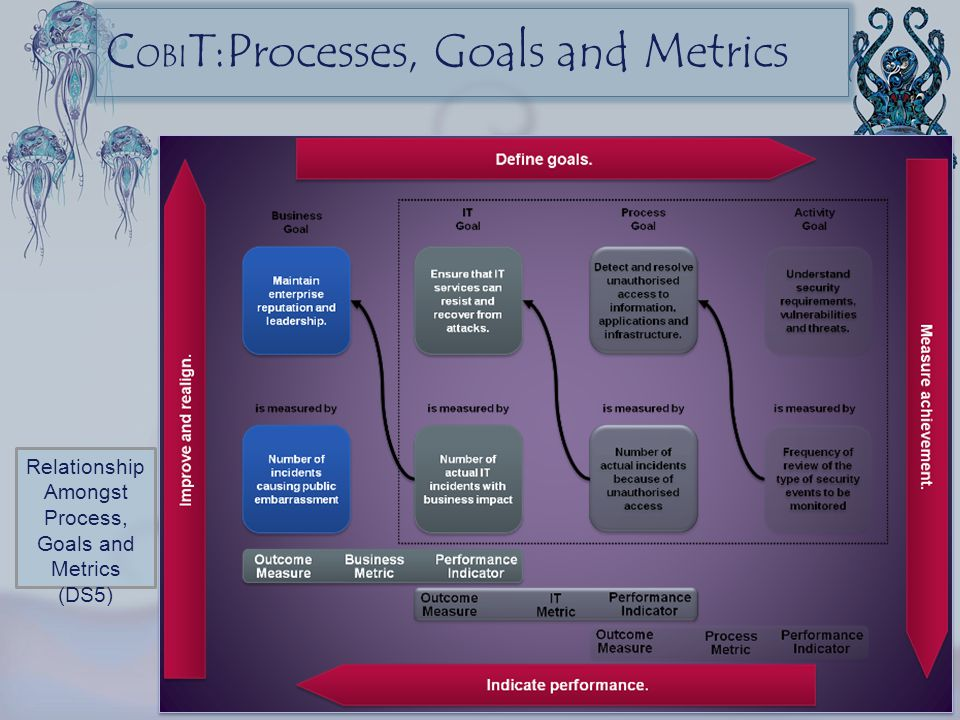 COBIT:Processes, Goals and Metrics