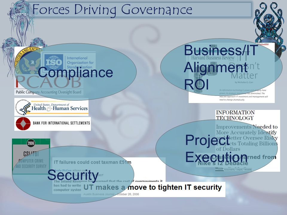 Forces Driving Governance