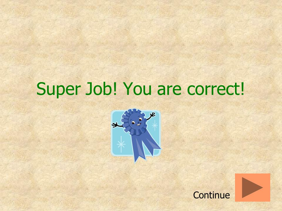 Super Job! You are correct!