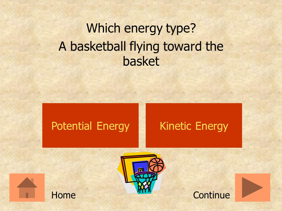 A basketball flying toward the basket