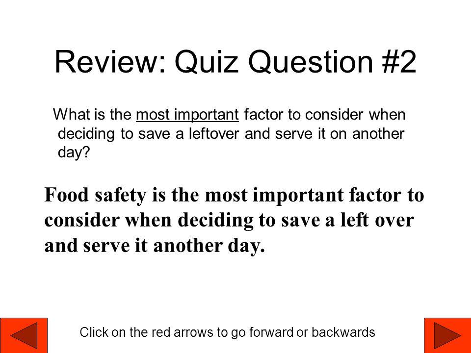 Review: Quiz Question #2