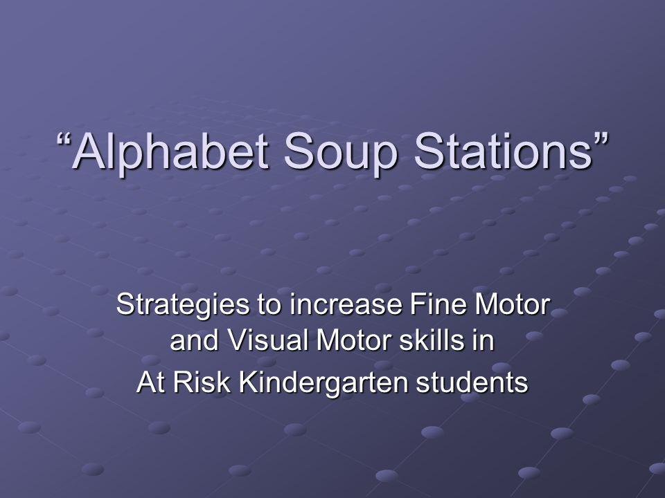 Alphabet Soup Stations