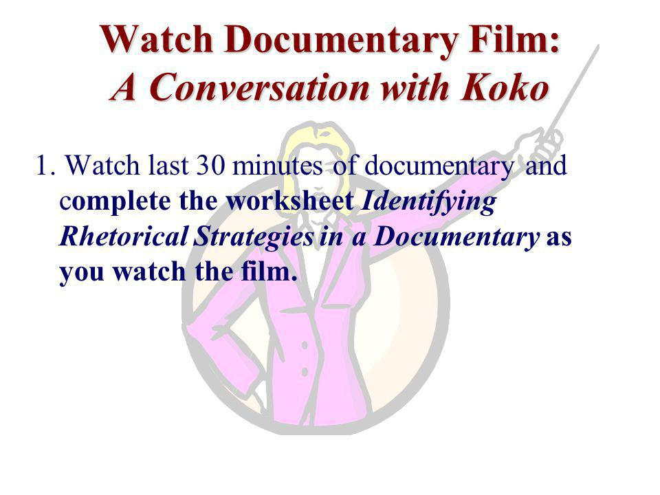 Watch Documentary Film: A Conversation with Koko