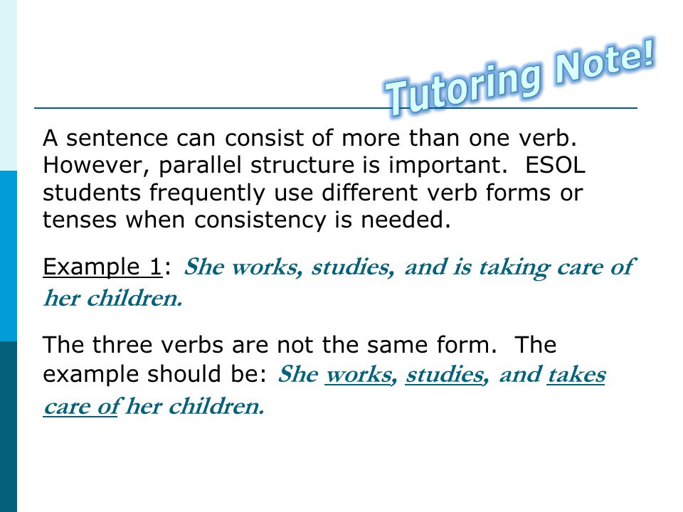 Tutoring Note!