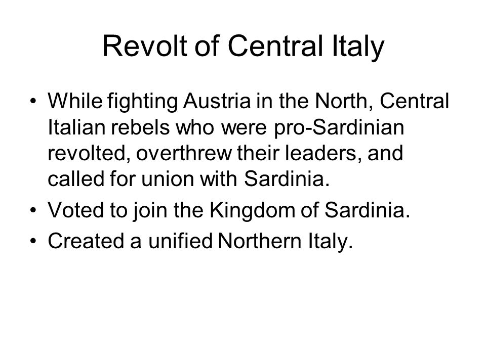 Revolt of Central Italy