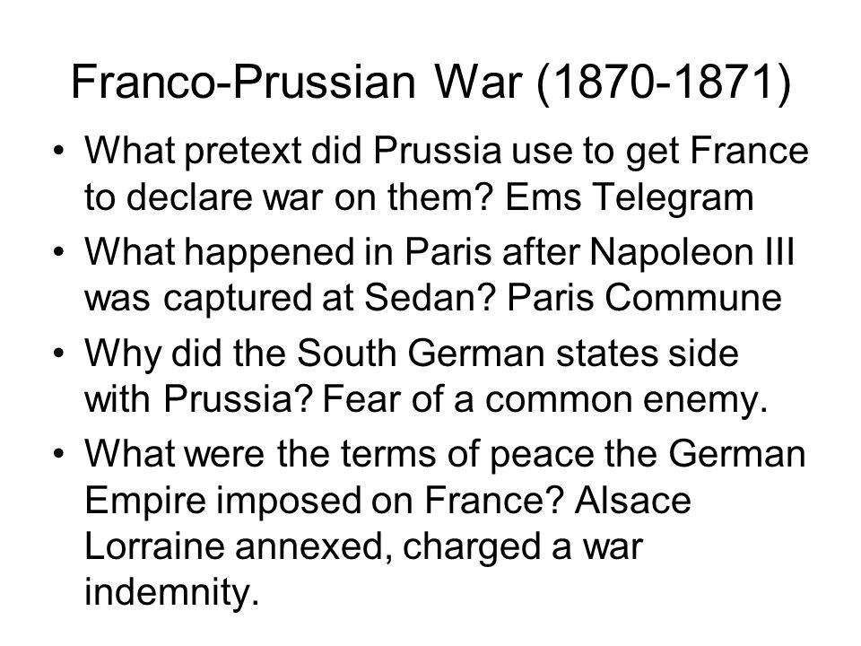 Franco-Prussian War (1870-1871)