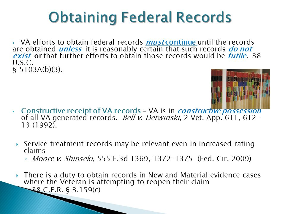 Obtaining Federal Records