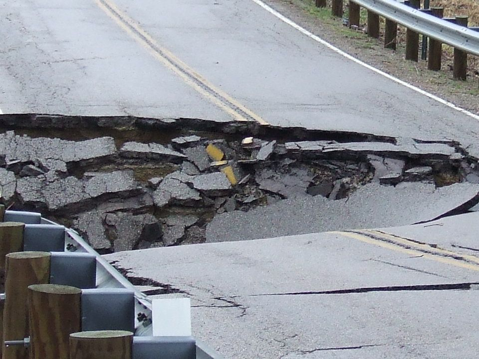 ER Photo …….check out the photo log on our web site. No, we don't consider potholes an emergency.