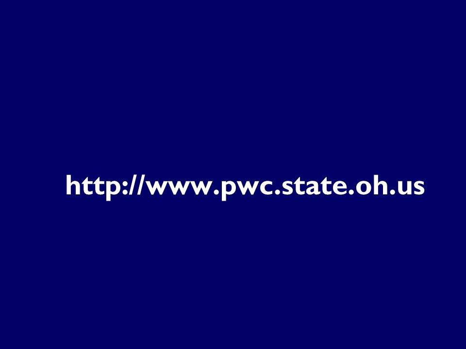 http://www.pwc.state.oh.us Website Address