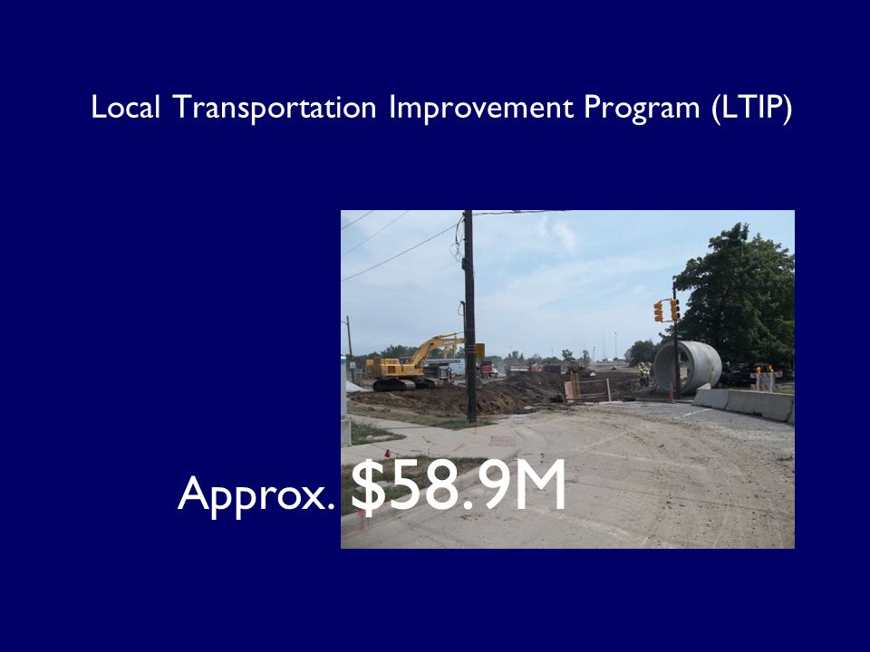 Local Transportation Improvement Program (LTIP)