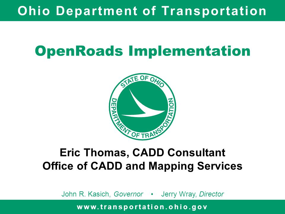OpenRoads Implementation