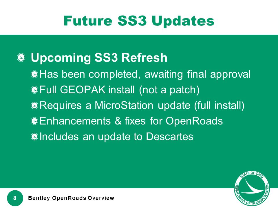 Future SS3 Updates Upcoming SS3 Refresh