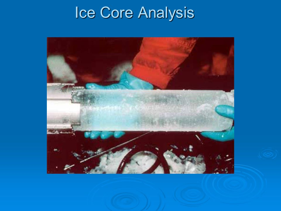 Ice Core Analysis