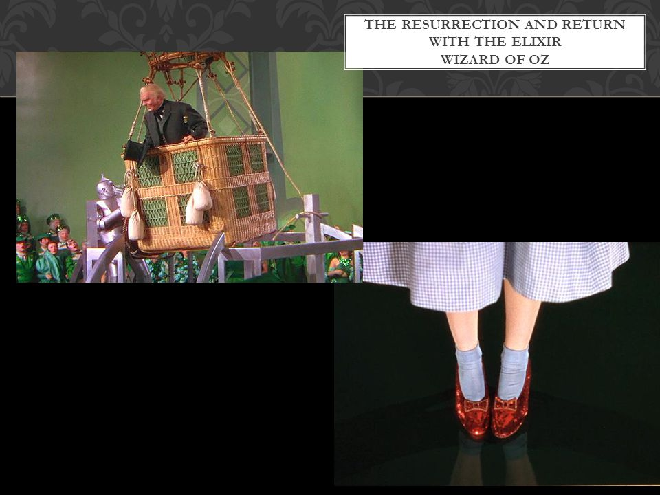 The RESURRECTION AND RETURN WITH THE ELIXIR Wizard of Oz