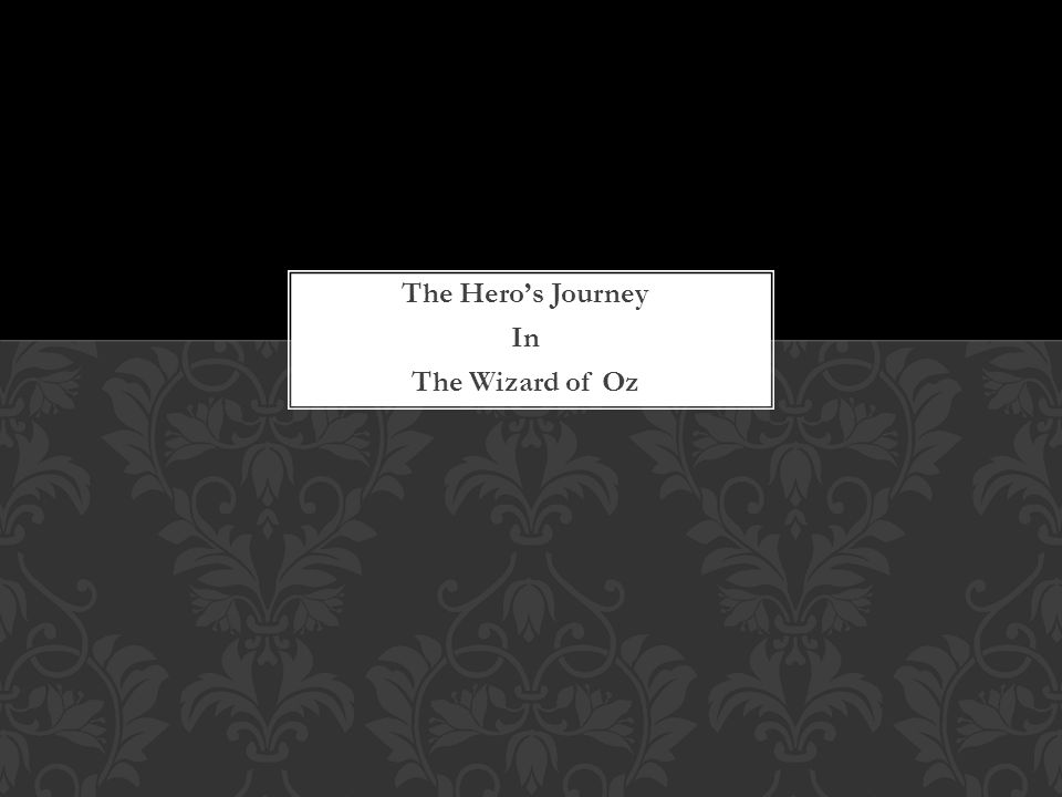 the heroes journey vs the wizard Although i prefer to watch original and relatively unknown films, i do believe that conventional mainstream films offer the best sources of analysis the following two diagrams show a step-by-step example of the heroes journey.