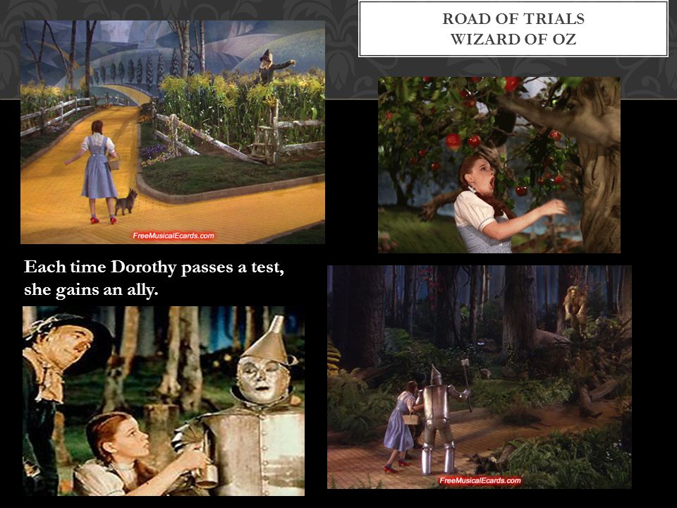 Road of trials Wizard of Oz