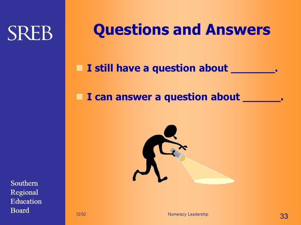 Questions and Answers I still have a question about _______.
