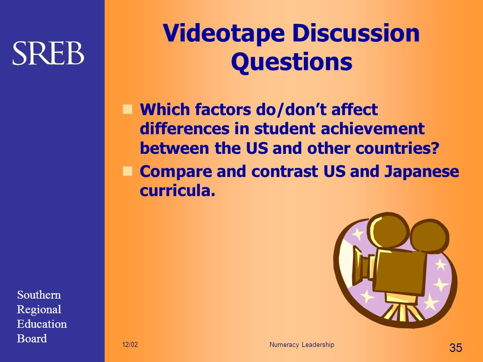 Videotape Discussion Questions