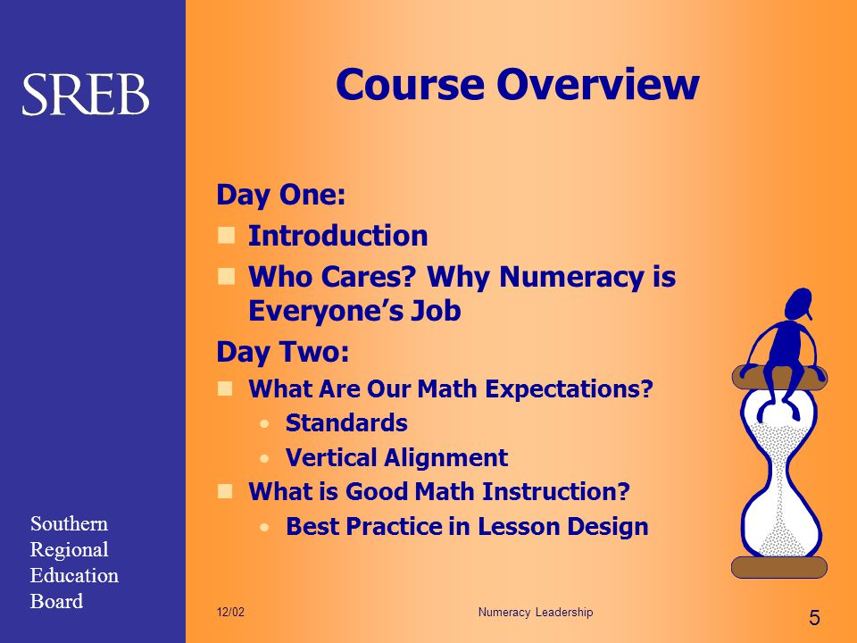 Course Overview Day One: Introduction