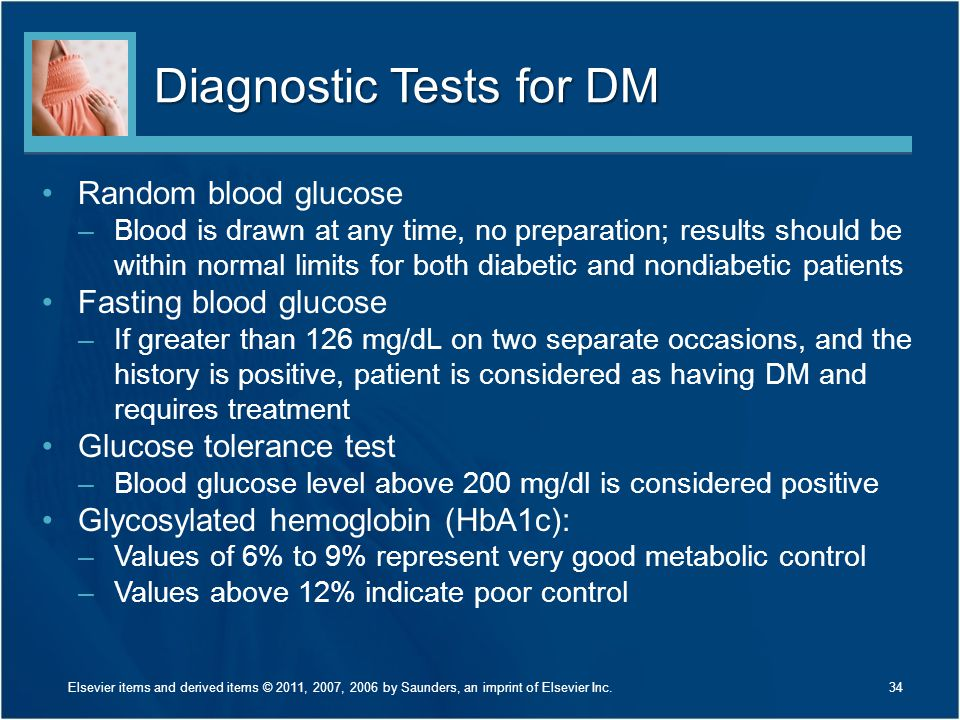 Diagnostic Tests for DM
