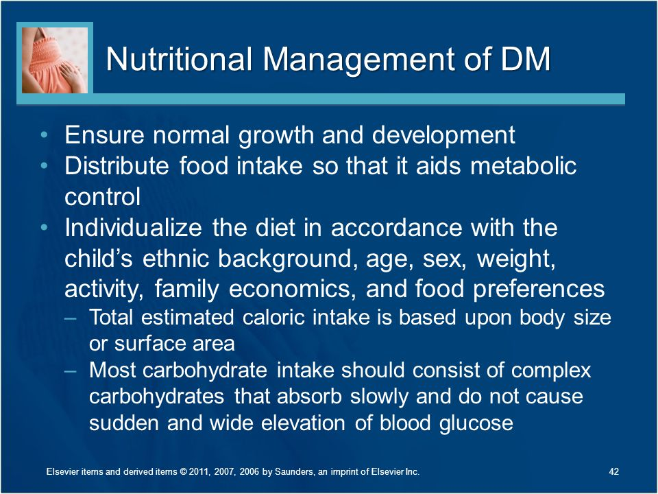 Nutritional Management of DM