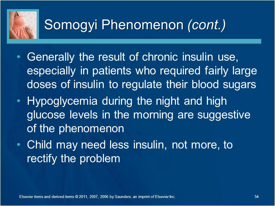 Somogyi Phenomenon (cont.)