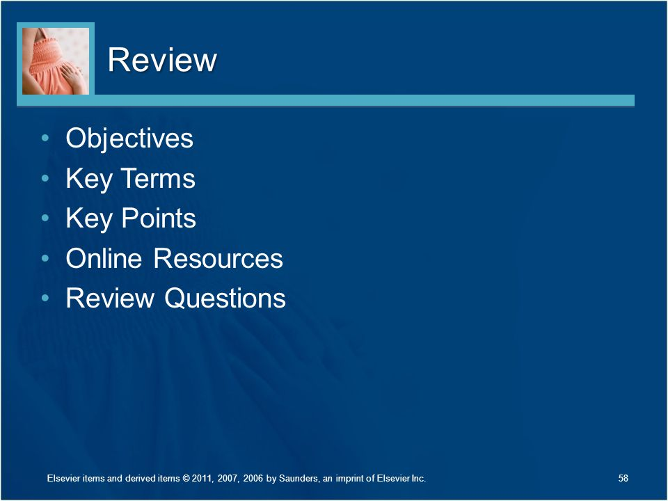 Review Objectives Key Terms Key Points Online Resources